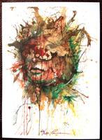 Guilt - Postcard Piece by Carnegriff