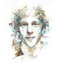 Portrait of Jesse Eisenberg by Carnegriff