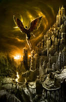 Icarus Rising by alexiuss