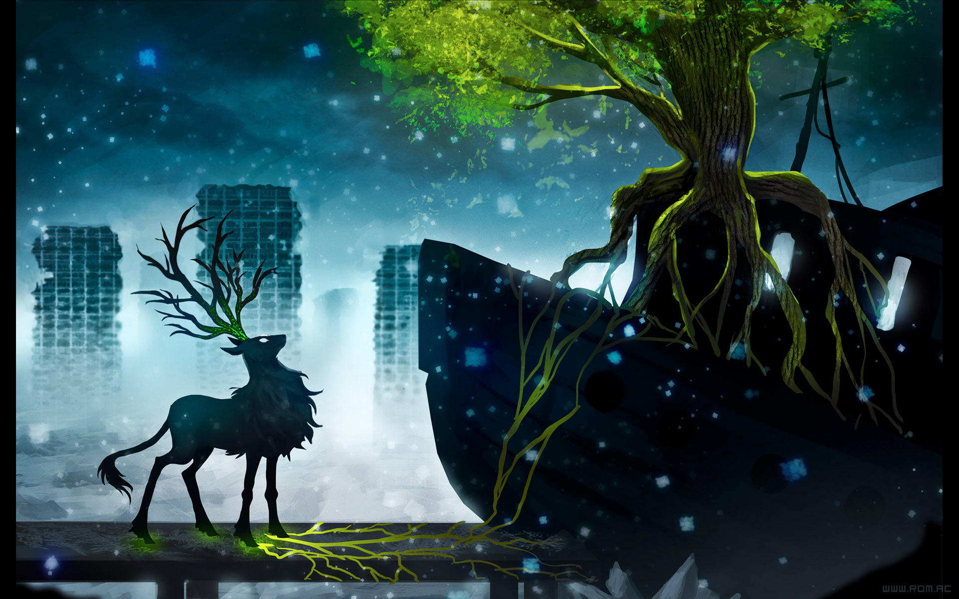 BOAT TREE by alexiuss