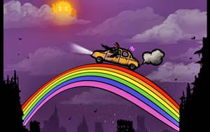 RIDE THE RAINBOW by alexiuss