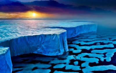 Ice wall by alexiuss