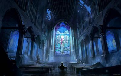 Angel of mercy by alexiuss