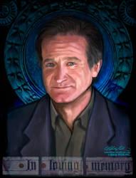 Robin Williams by alexiuss