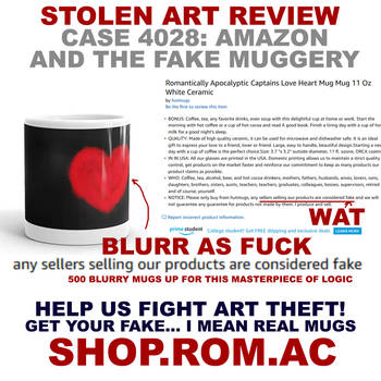 Stolen art review: Real fake mugs by alexiuss