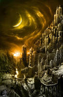 Amber Citadel by alexiuss