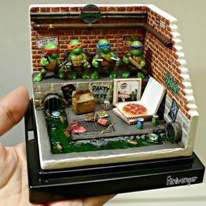 Mini TMNT Sewer Diorama by minivenger