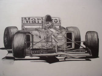 f1 car by Afromoney