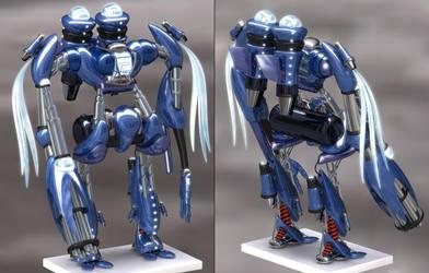 HDRI Robot Finally Finished by ussjgoku217