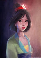 Mulan by JowieLimArt