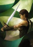 Mr. Sword? by JowieLimArt