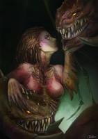 Starcraft  - Queen of Blades by JowieLimArt