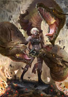 Dragon Tamer by JowieLimArt