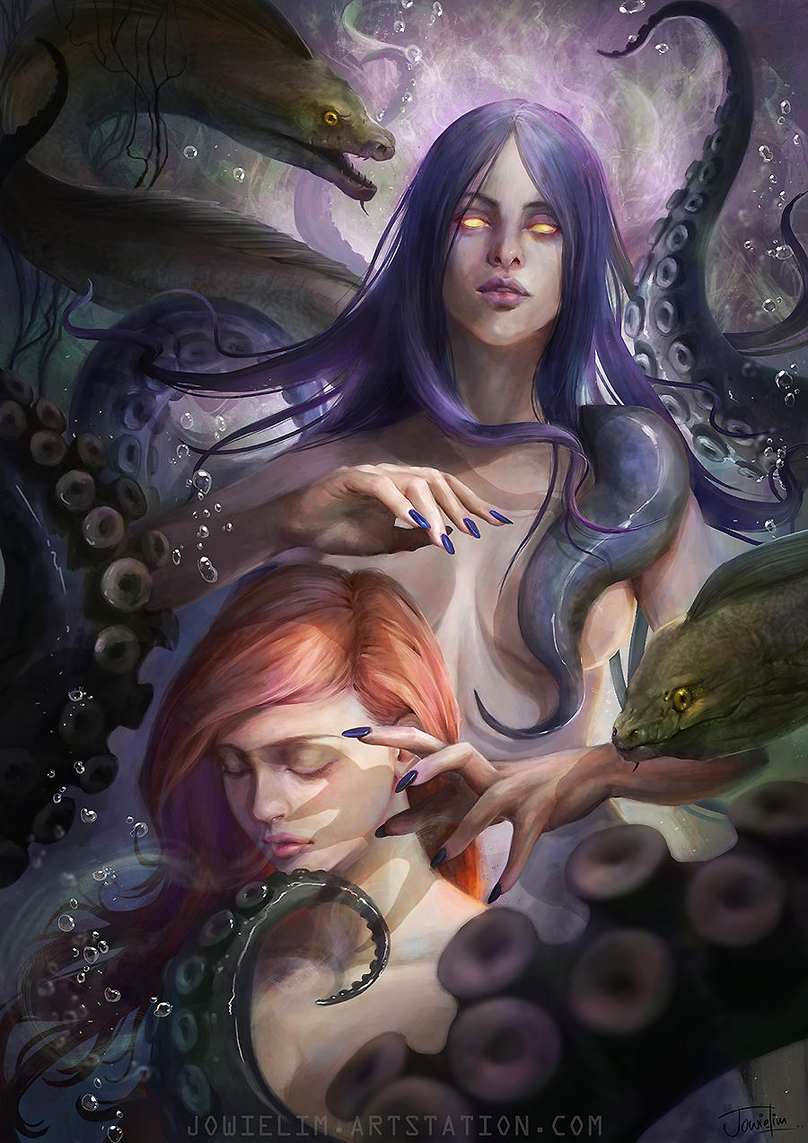 The Deal with Ursula by JowieLimArt