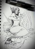 Tuna Aboard by JowieLimArt