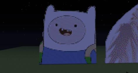 Finn-adventure Time by peter-pun