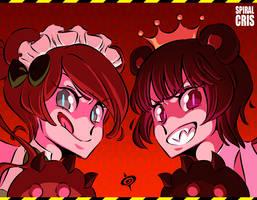 KUMA SHOCK!! by SPIRALCRIS