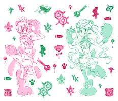 Ginko and Lulu by SPIRALCRIS