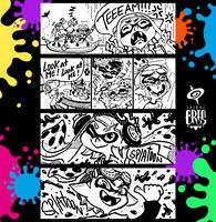 Splatoon Miiverse Art 2 by SPIRALCRIS