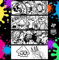 Splatoon Miiverse Art 21 by SPIRALCRIS