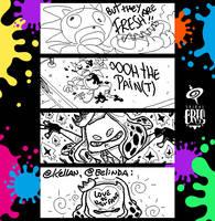 Splatoon Miiverse Art 23 by SPIRALCRIS