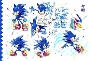 Sonic the Thing by SPIRALCRIS
