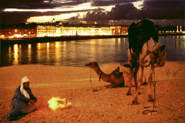sahara city by amincreations