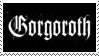 Gorgoroth Stamp by Aldaeld