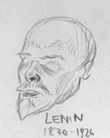 Death Masks: Vladimir Lenin by Mr-Henon