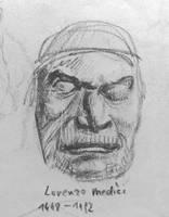 Death Masks: Lorenzo Medici by Mr-Henon