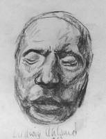 Death Masks: Ludwig Uhland by Mr-Henon