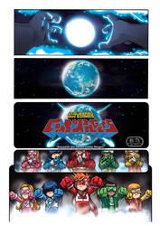 Combo Rangers Universe - Opening Sequence 1/4 by fabioyabu