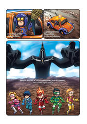 Combo Rangers Universe - Opening Sequence 4/4 by fabioyabu