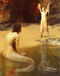 Mummy Versus Mermaid by RJDiogenes