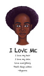 I Love Me by veyeone