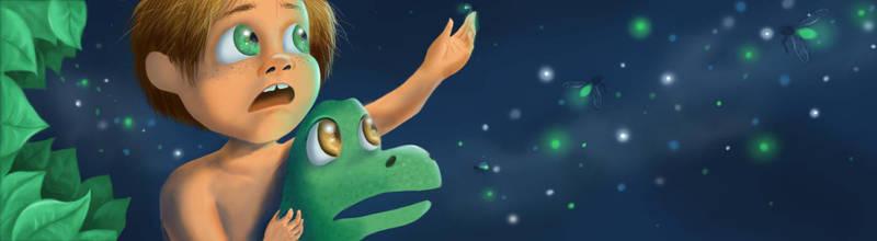 The Good Dinosaur by veyeone