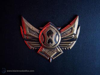 League of Legends Bronze Badge Magnet by blackmaskedfox