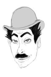 Charlie Chaplin by fruit4dinner