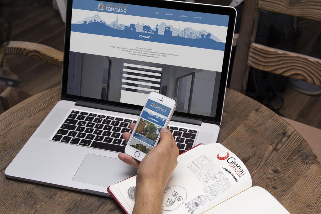 Sito web per agenzia immobiliare by GrazioliDesign