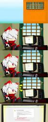 .:Comic:-Cuando se va el internet (?-:. by SnowDife