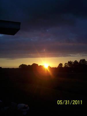 sunset by silmarlfan1