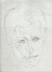 Andrew Rogers line drawing by silmarlfan1