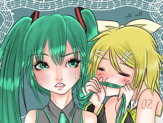 get away from me rin by otakuayachan