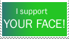 I support your face stamp by deviantStamps