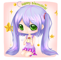 Happy Belated Birthday Why-tan! by bunnymonstur