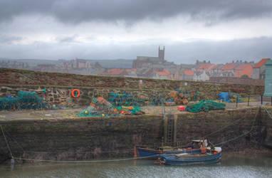 A Postcard from Dunbar by cthonus