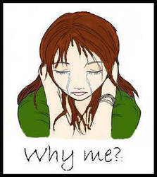 Why me? _with words by inucrazyGina