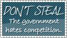 Stamp: Don't Steal by Raine-Rose