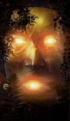 The Golden Mask by CuzImaJellyfish