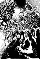 spiderman by hakantacal